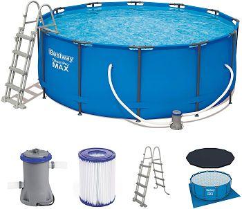 mejor piscina desmontable tubular